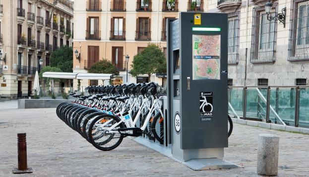 Las rutas de BiciMAD se sumarán a nuestra huella ciclista