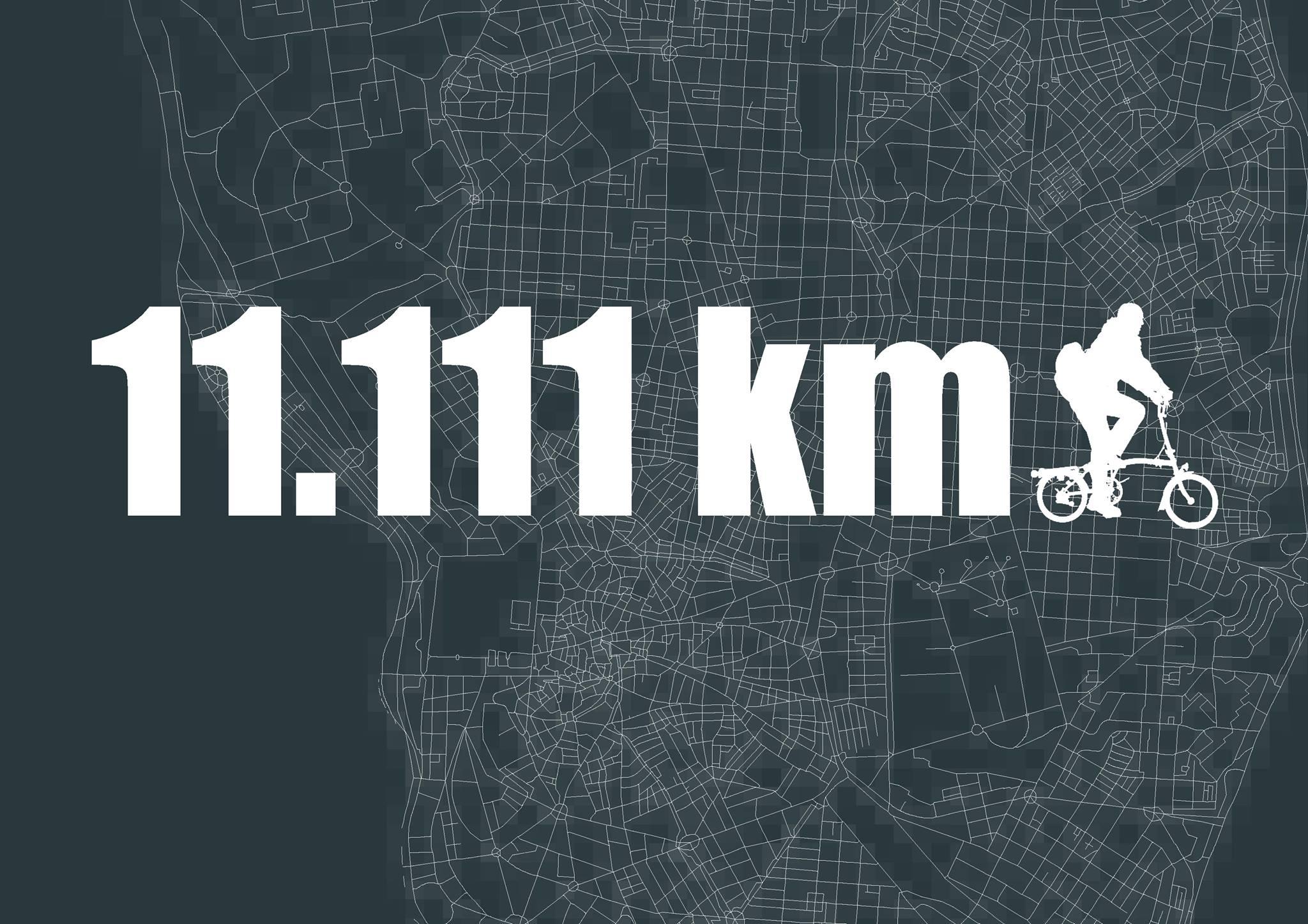 Sumamos 11.1111 km de rutas