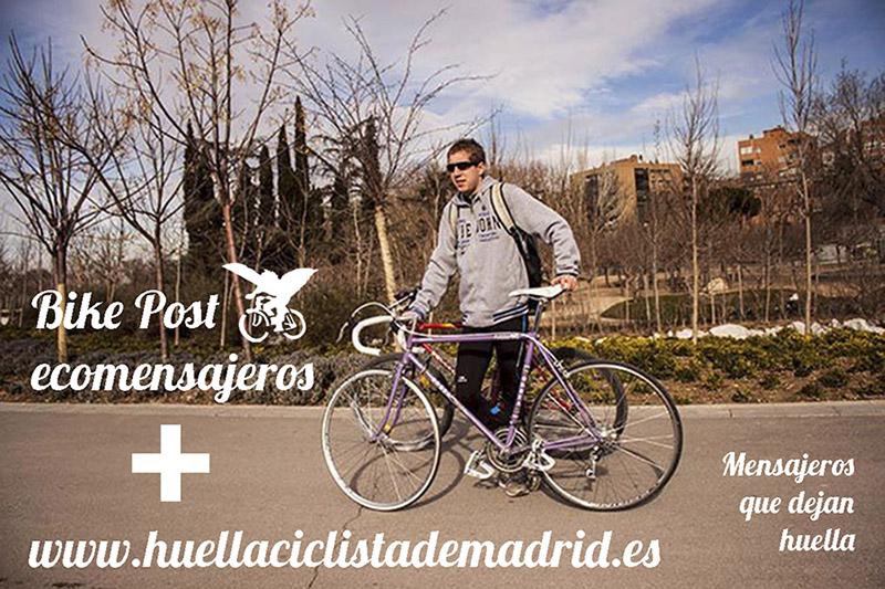 Damos la bienvenida a Bike Post ecomensajeros!