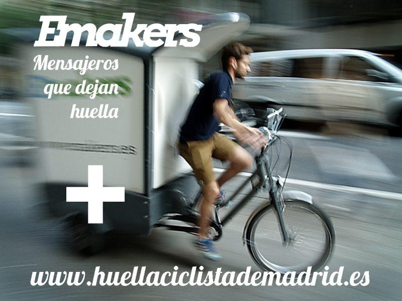 Emakers también nos dejará su huella ciclista