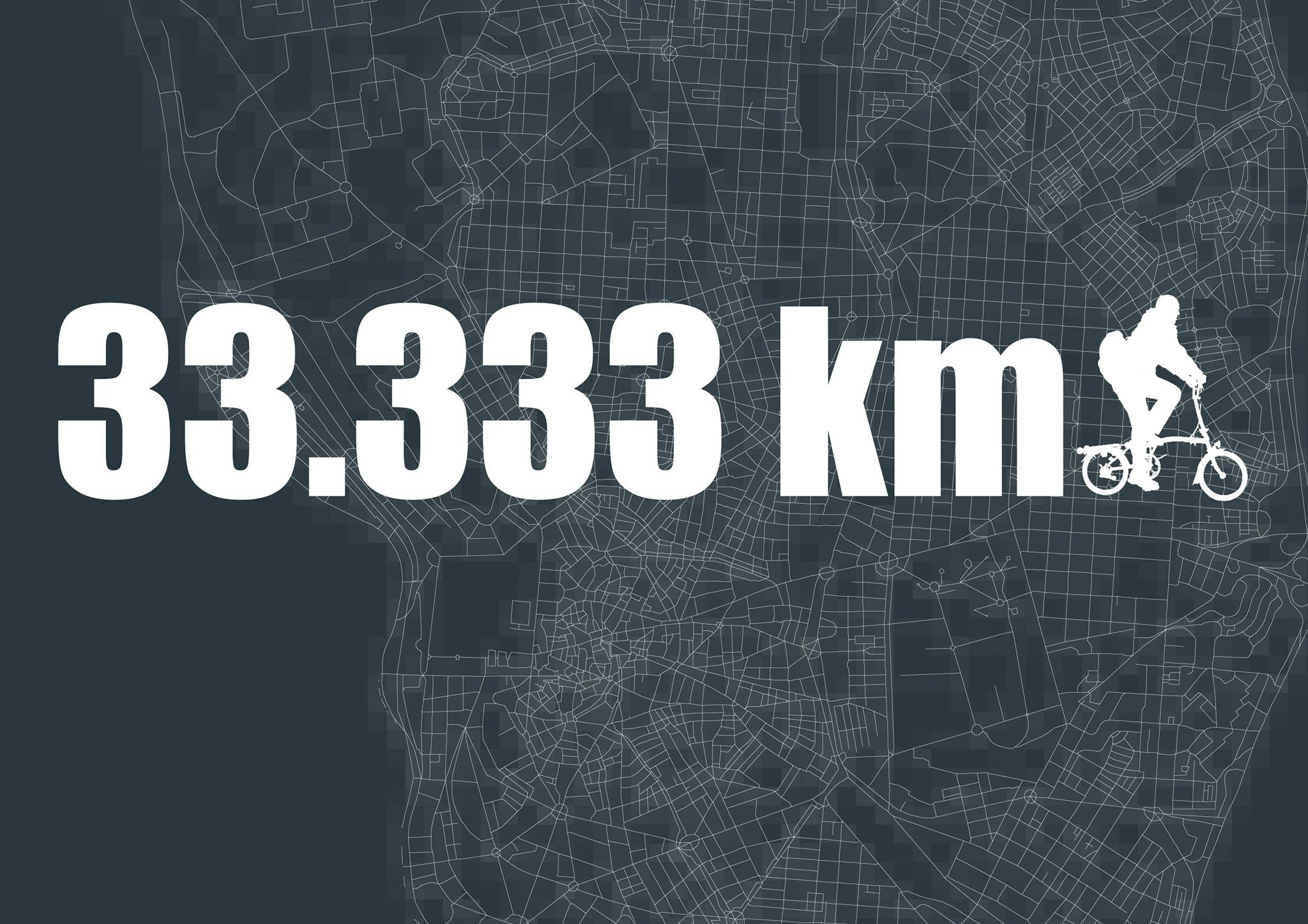 Celebrando 33.333 km de rutas ciclistas